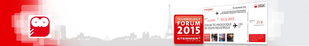 Forum Technologique de Vision Industrielle – France
