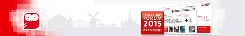 Machine Vision Technology Forum - The Netherlands