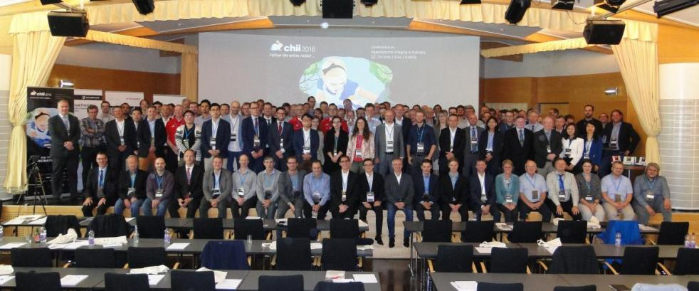 chii2016 - Conference on Hyperspectral Imaging in Industry; Graz Austria