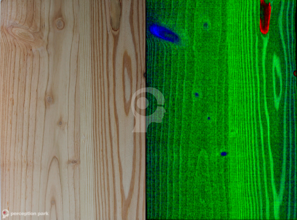 Detecting defects on sawn-timber by hyperspectral imaging and chemical color imaging