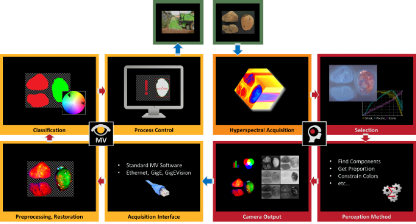 Perception Park, chemical imaging, chemical color imaging, machine vision, bridging